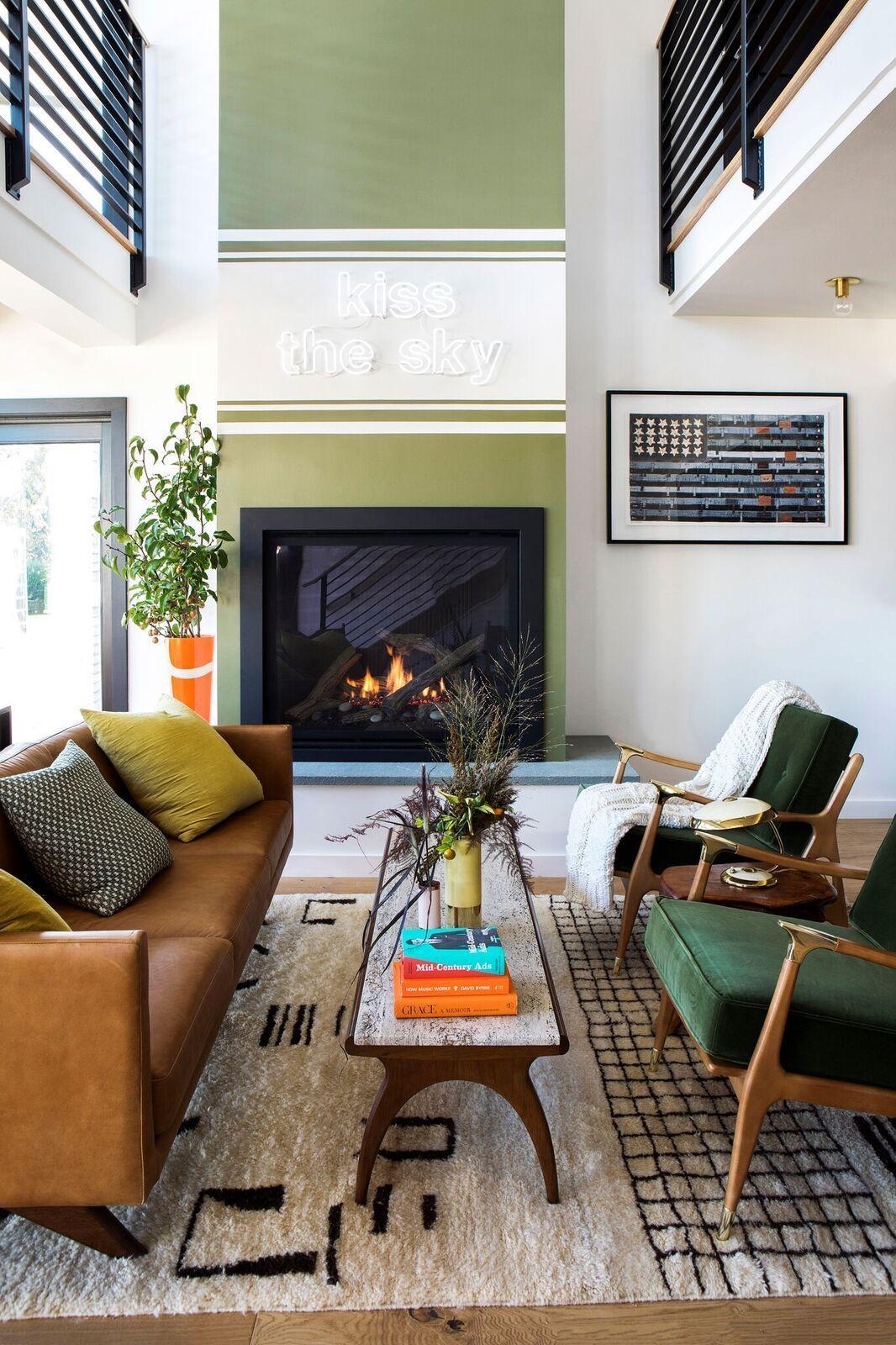 10 Best Mid Century Modern Living Room Design Ideas Mid Century