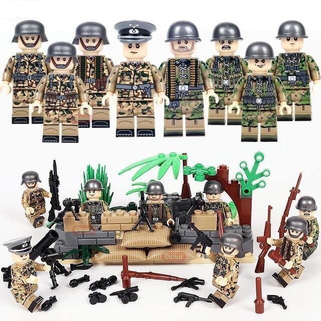 Brickarms WW1 German Infantry//pack