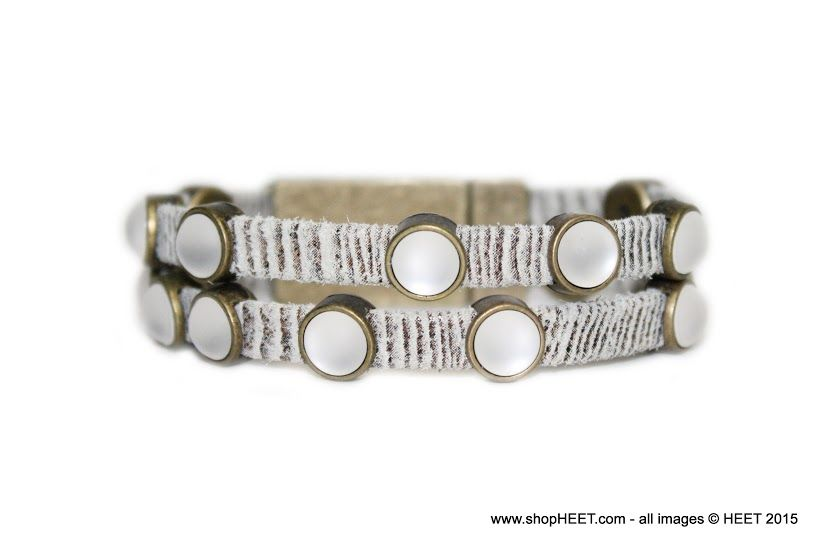 Rock Antique Gold Frosted Pearl Exotic in Twigs - $145 2015 Frosted Collection