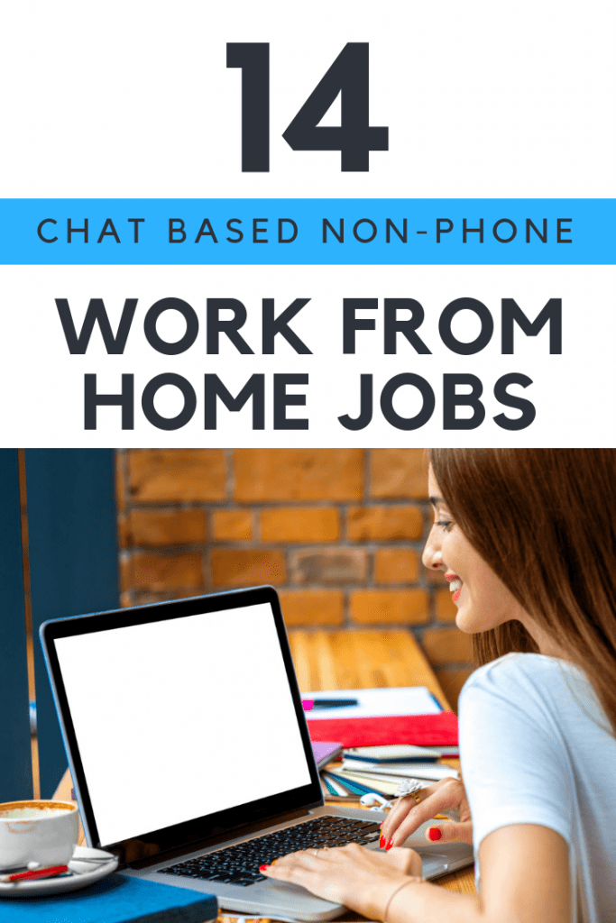 Text Chat Operator Jobs From Home 14 Companies That Will Hire You Work From Home Moms Working From Home Work From Home Jobs