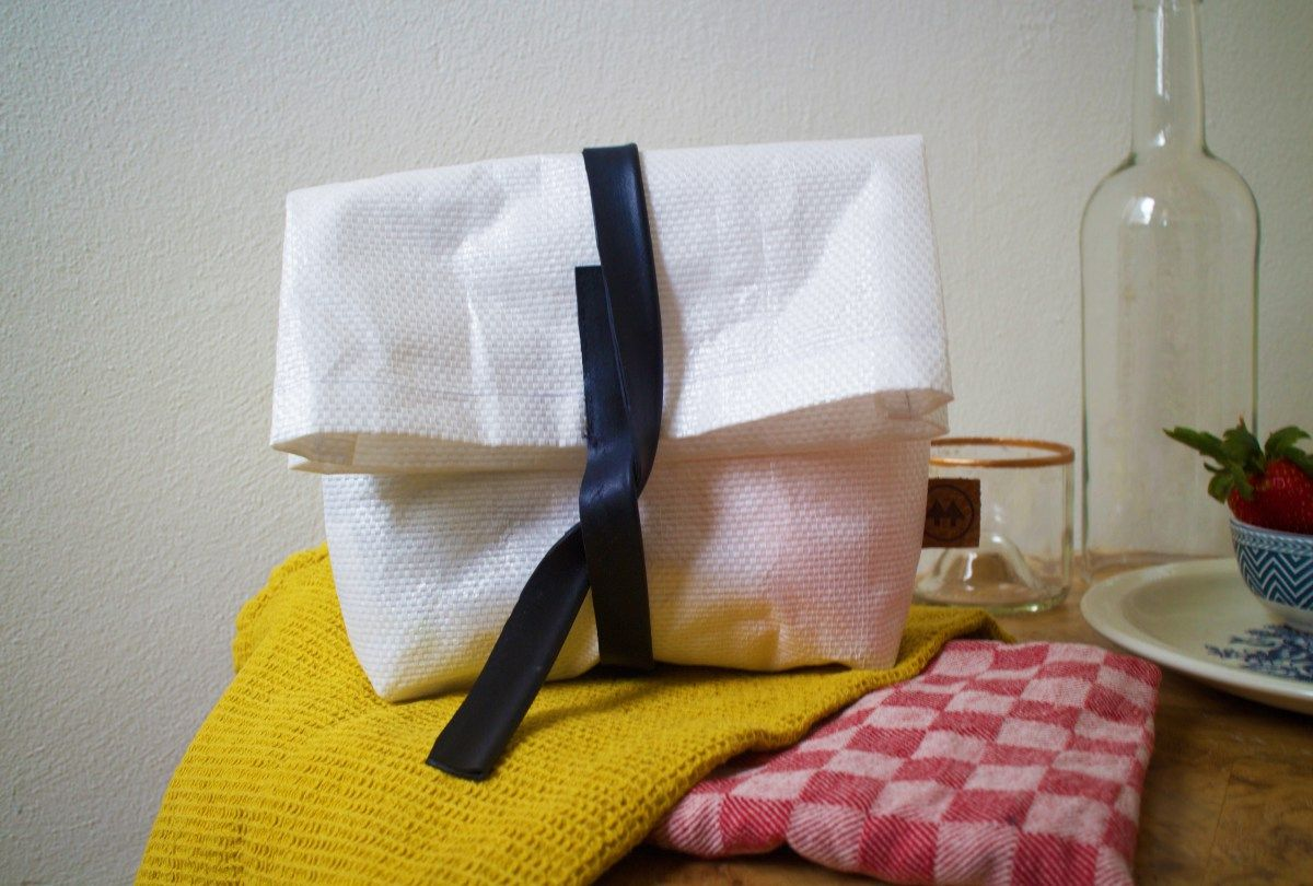 On the Go Lunch Bag by Upcycle Society