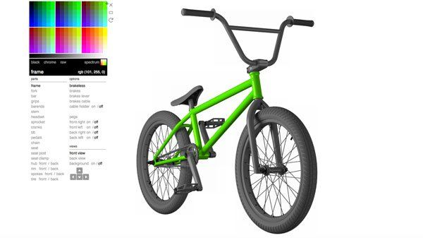 0f9fdb353bd The BMX Color App allows you to create a custom color scheme for your BMX  bike so you can test out what you like before you buy or paint your bike.