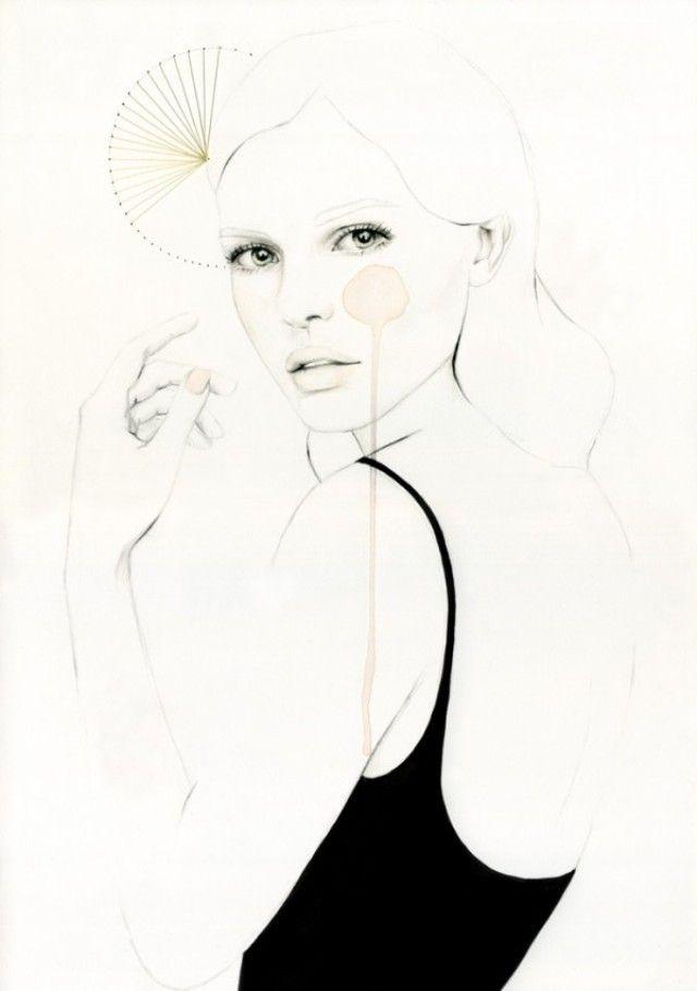 肖像画のイラスト, イラストファッション, ファッションイラスト, 愛のイラスト, 簡単な図面, 驚くほどの図面, ファッションの図面, ファッションの肖像画,
