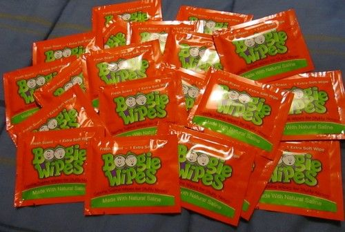 Boogie Wipes 20 Individual Packs Fresh Scent Boogie Wipes Cool