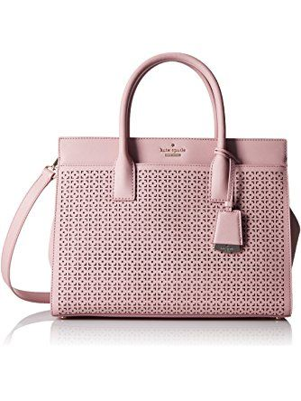 7931dfdec kate spade new york Cameron Street Perforated Candace Satchel Bag, Pink  Bonnet, One Size ❤ kate spade new york