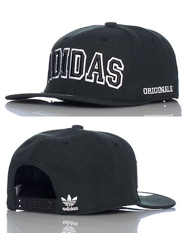 96144aad6ea adidas Stinger logo snapback cap Adjustable strap on back of hat for  ultimate comfort adidas logo embroidered across front