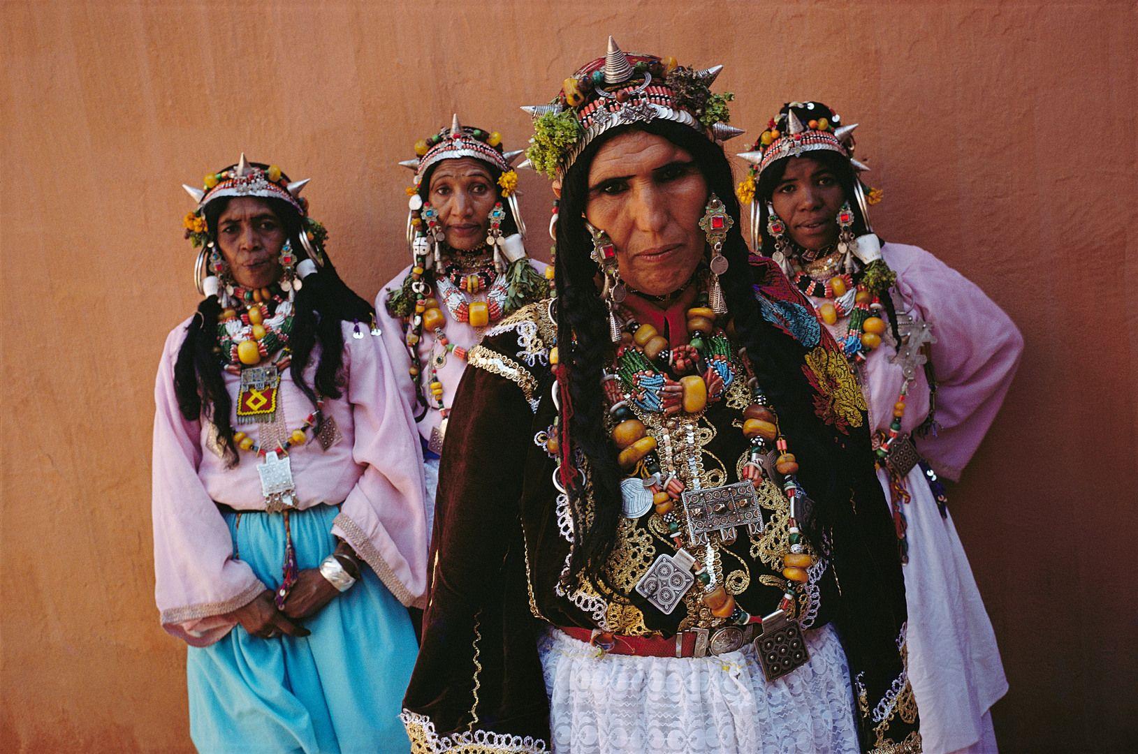 Africa | Berber women, Taghjijt, Morocco. Women have ...