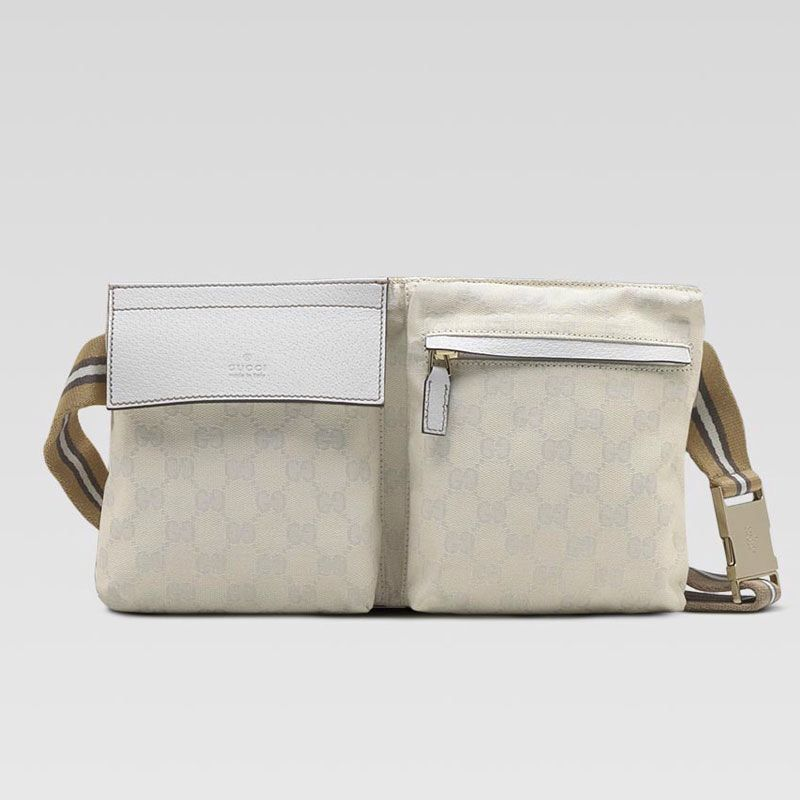 b786ca5d85c Gucci Belt Bag in white Gucci Bags Outlet