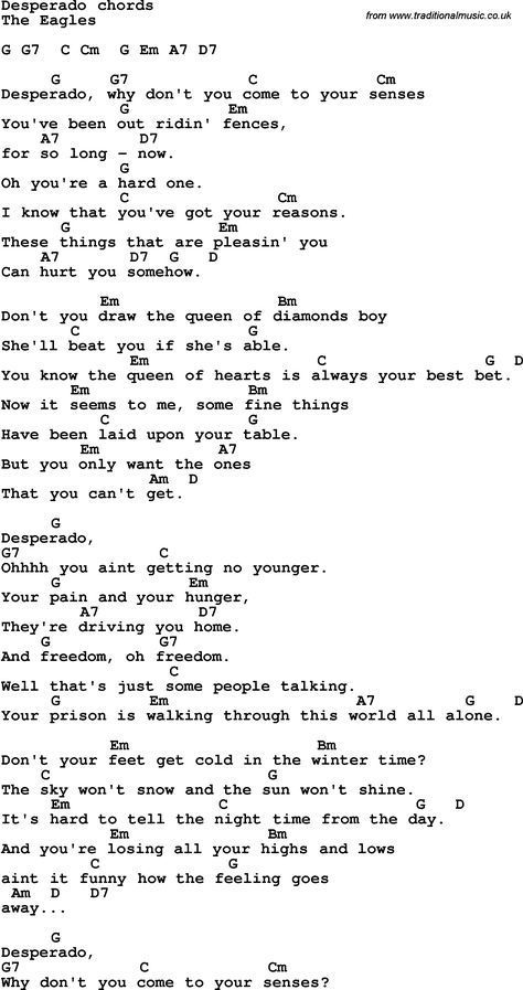 The song \