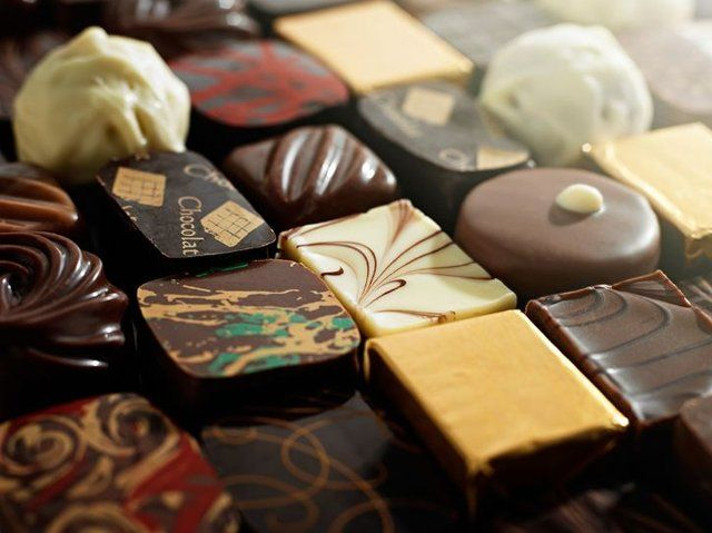 Hand-made Chocolates by Stuart Rowen Photography