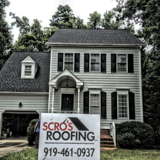 Best Raleigh Roof Certainteed Landmark Color Moire Black 400 x 300