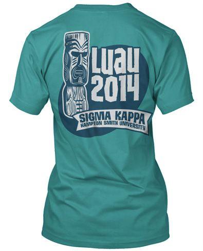 7f2411a9a Luau T-shirt. | Beach Vibes | Graduation shirts, Luau shirts, Greek ...