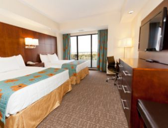Double Queen Suite At The Ramada Plaza Resort And Suites Orlando