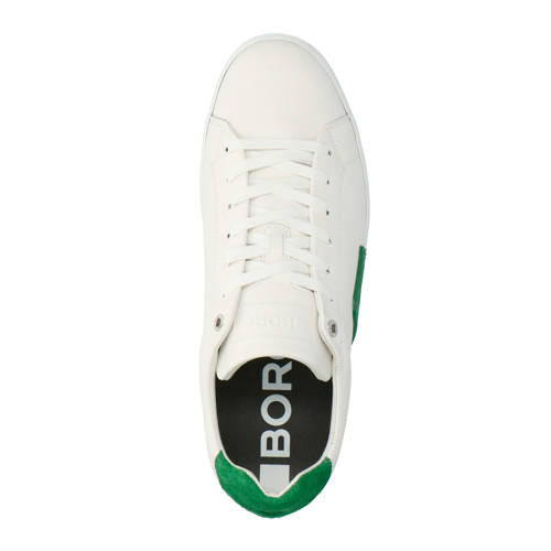 707694cb16a Björn Borg Clip M leren sneakers wit/groen in 2019 | Products ...