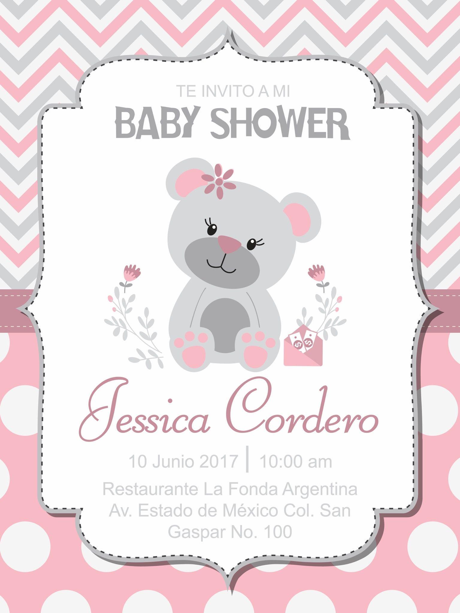Pin De ольга En метрика Baby Shower Invitaciones