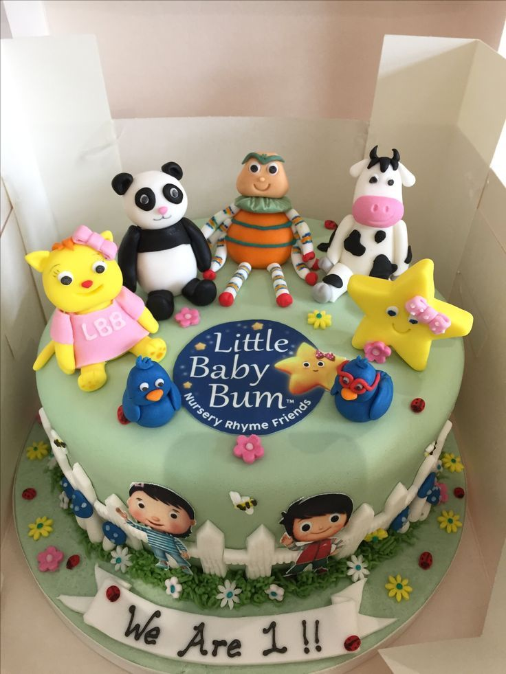 Image Result For Little Baby Bum Cake Jerseys 1st Birthday