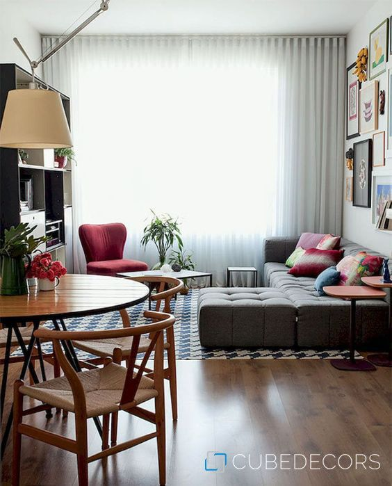 Living Room Lighting Ideas On A Budget: Smart And Creative Small Apartment Decorating Ideas