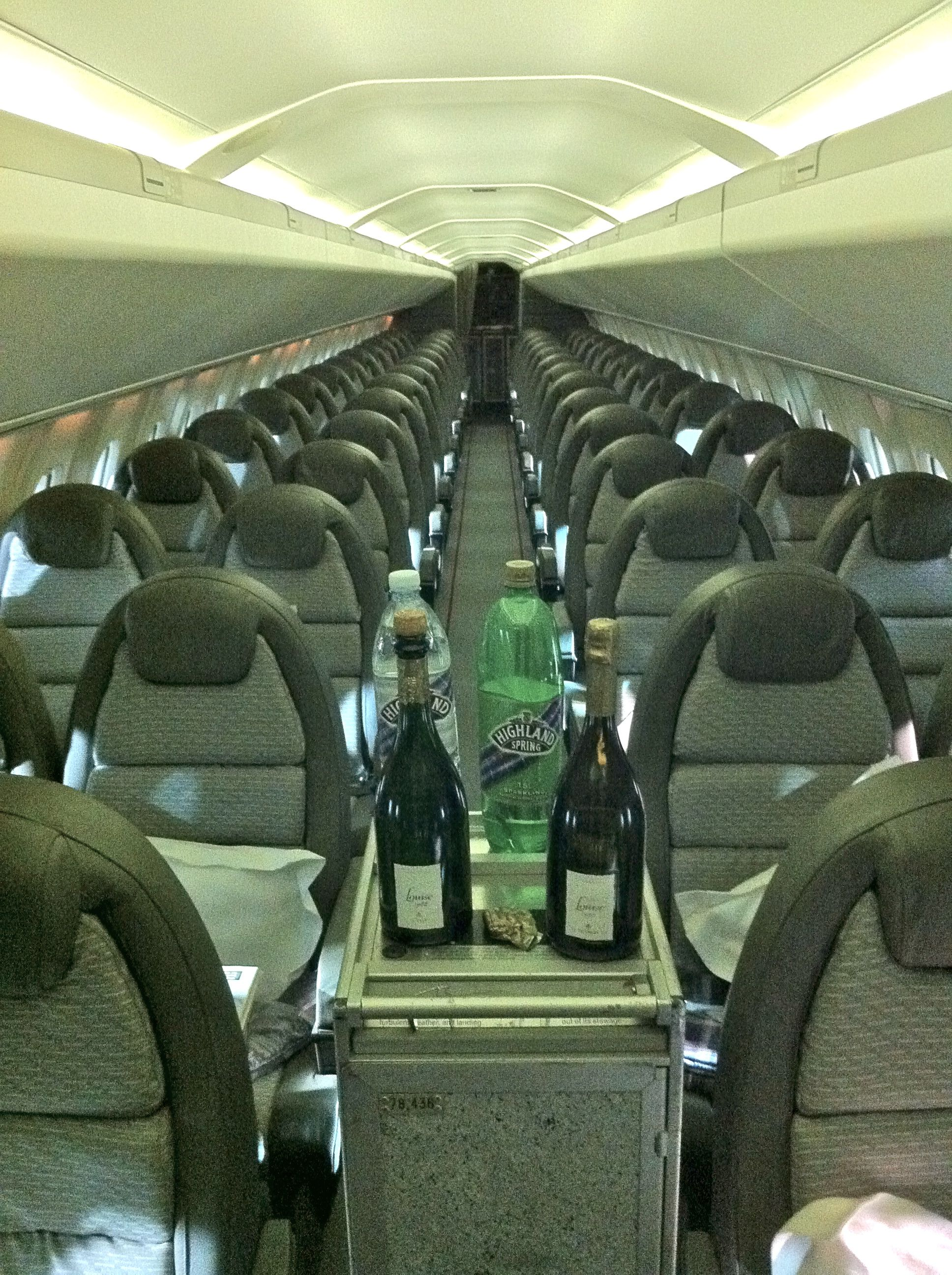 Captivating Concorde Interior Designed By Sir Terence Conran