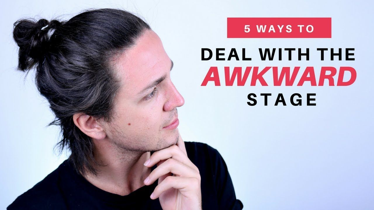5 Ways To Deal With The Awkward Stage Watch These Videos On Youtube It Will Help Explain Some Things To Y Hair Stages Hair Growth Stages Hair Growth For Men