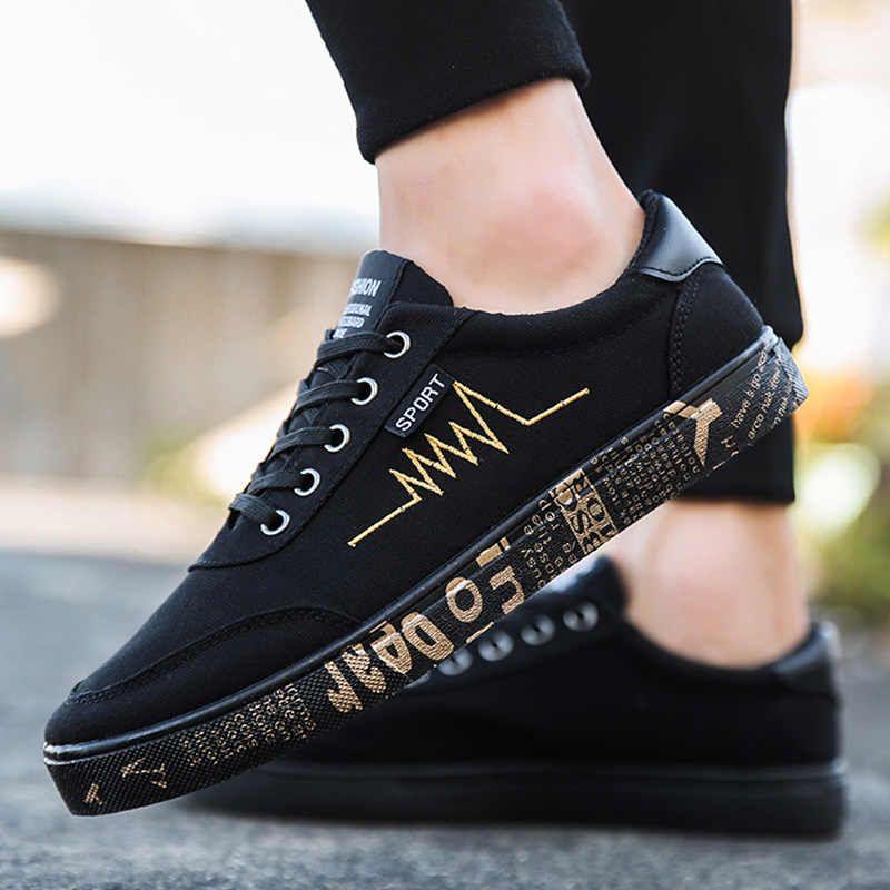Black shoes men casual