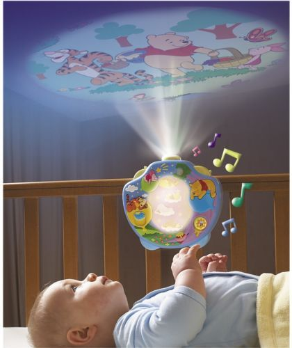 Tomy Winnie The Pooh Night Light Music Projectors Cot Crib Mobiles Baby Relaxer Baby Night Light Winnie The Pooh Nursery Girl Nursery Themes