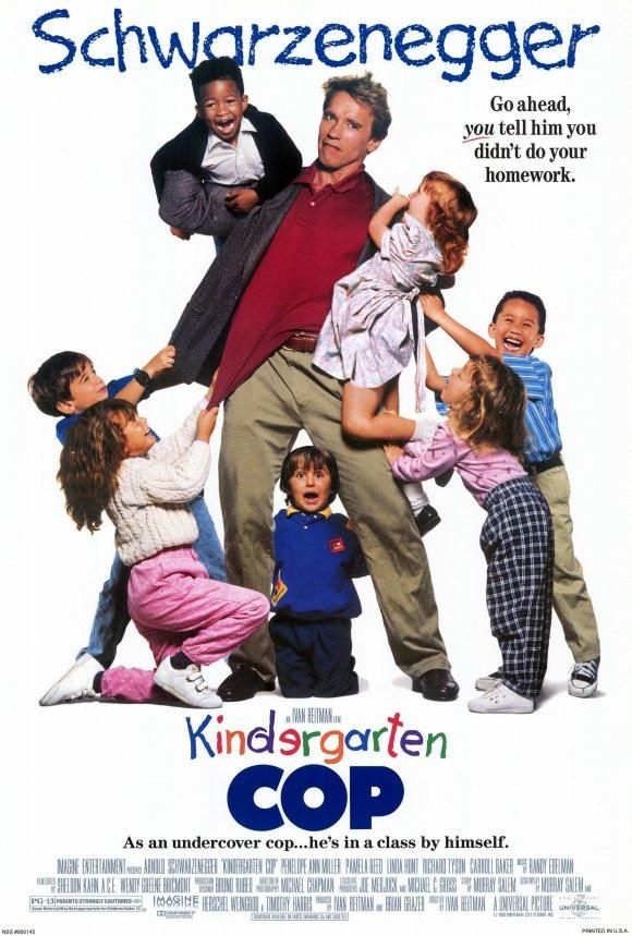 Kindergarten Cop 27x40 Movie Poster (1990) Películas y