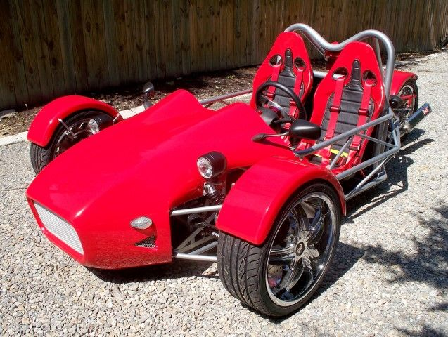 Sve Tr1ke 3 Wheel Kit Cars Reverse Trike 7740