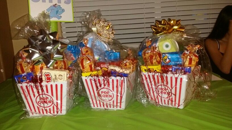 diaper raffle prizes movie tickets popcorn and candy more