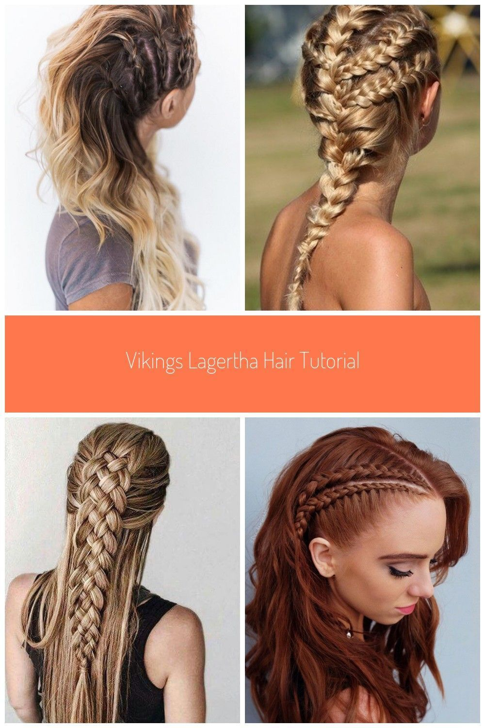 Side Triple Braids Lagertha Style Braids Viking Braids Vikings