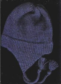 Free Pattern for child's earflap hat on the midgauge