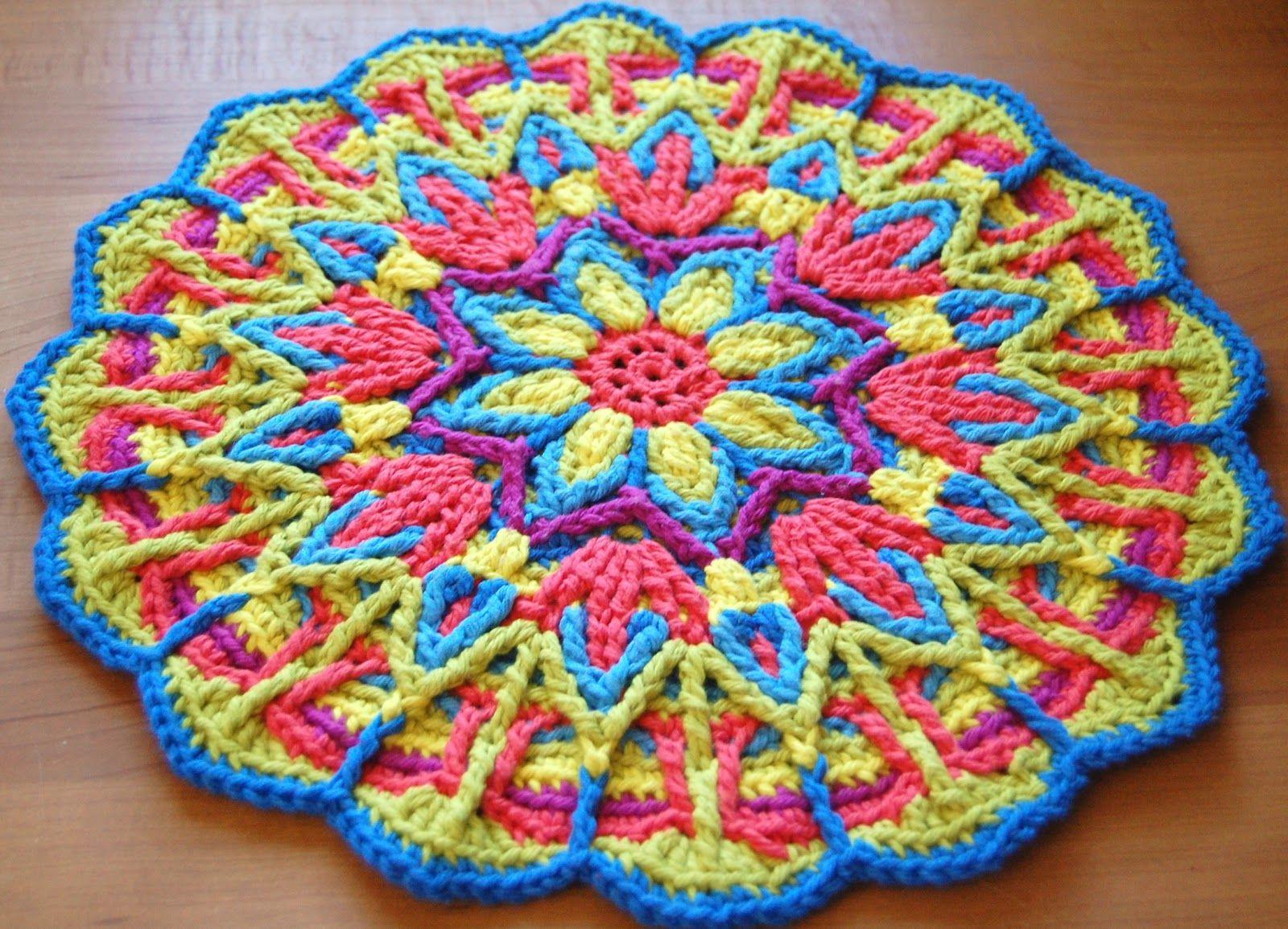 Overlay Crochet Mandala CAL | Häkeln, Häckeln und Häkelmuster
