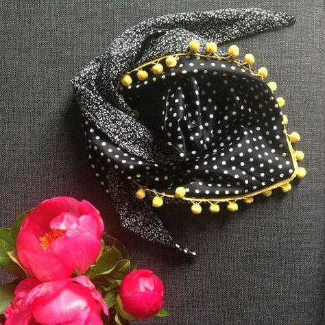 DIY et portrait : le foulard réversible de Zak A Dit