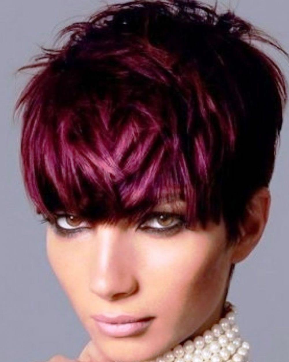 Balayage kurzhaarfrisuren u kurzhaarschnitte u balayage haarfarben