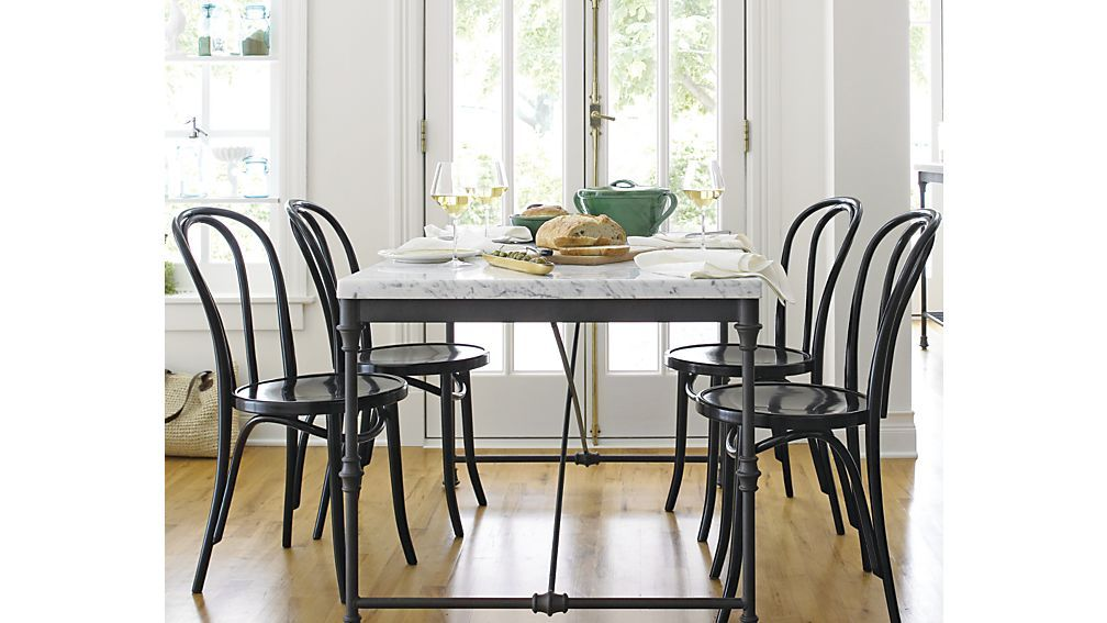 French Kitchen Table Reviews Crate And Barrel With