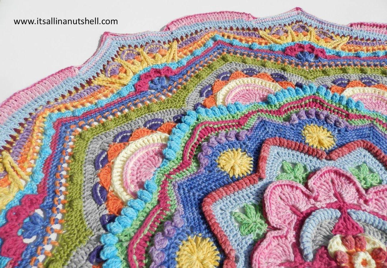 mandala madness part 9   Crocheting I want to try   Pinterest   Häkeln