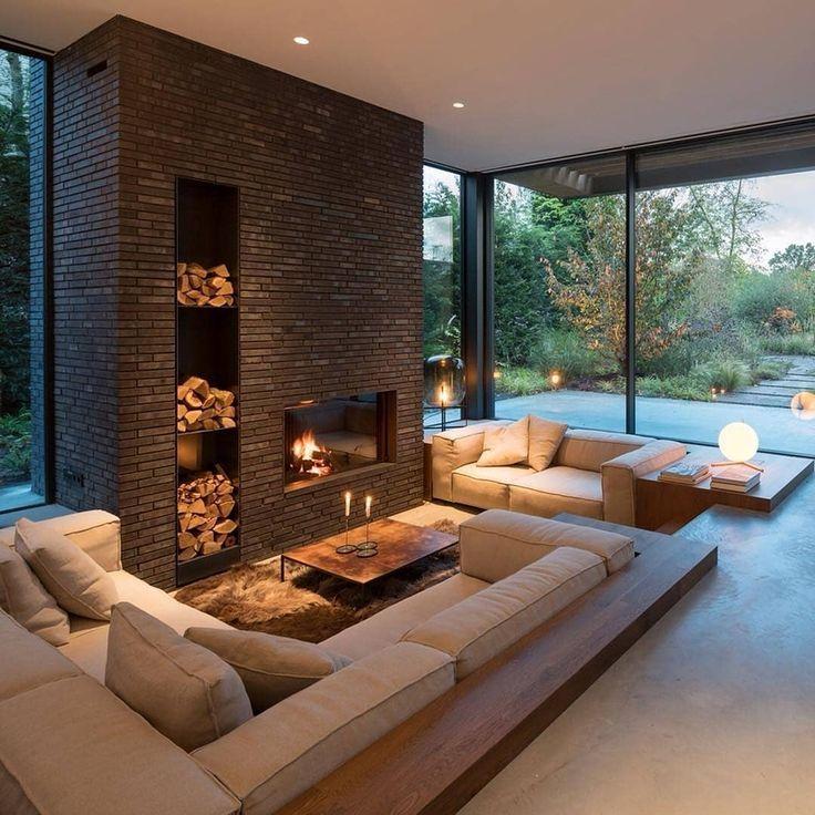"""Photo of Fancy Homes Instagram op Instagram: """"- Veeg naar links! Wat denk jij? • Villa Amsterdam is een gezinswoning met grote ondoorzichtige voor- en zijkanten die privacy en contrasten bieden aan… """""""
