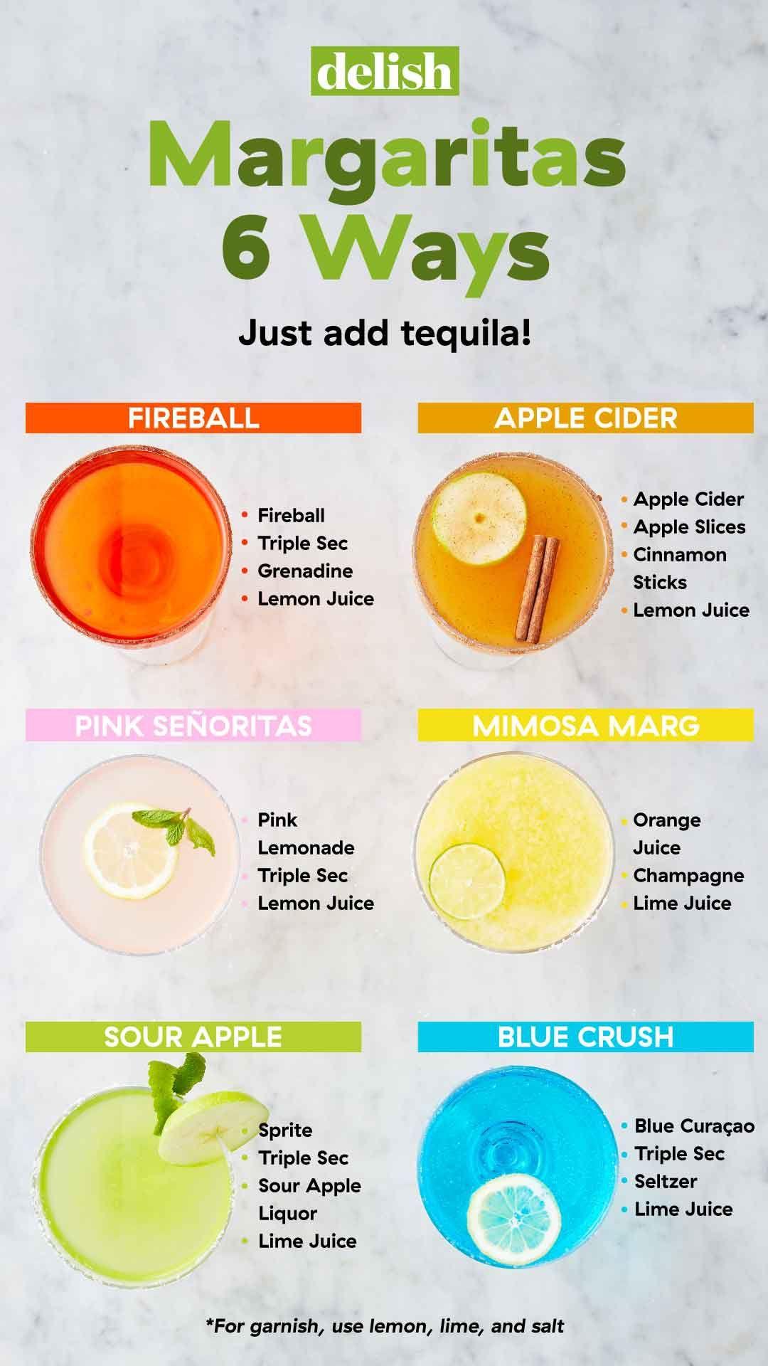 24 Totally Life-Changing Margarita Recipes