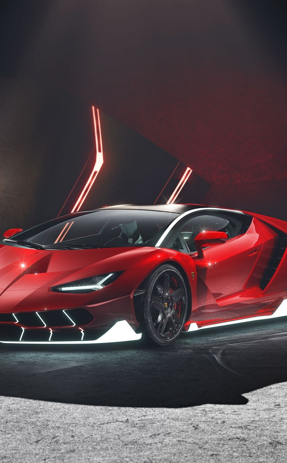 950x1534 Car Red Lamborghini Centenario Wallpaper In 2020 With