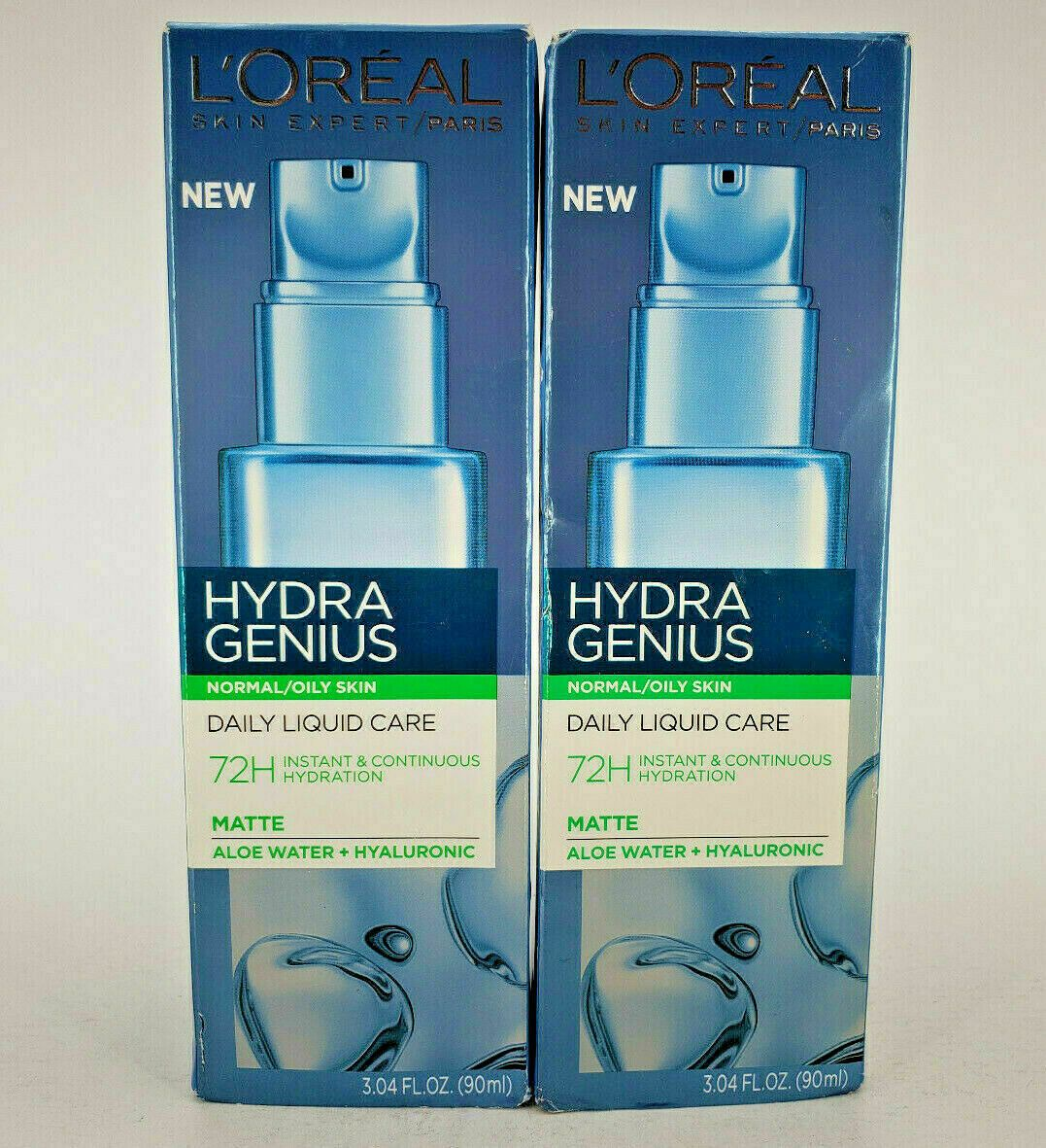 L Oreal Hydra Genius Daily Liquid Care Normal Oily Skin Matte 3 04 Oz Lot Of 2 In 2020 Oily Skin Oily Loreal