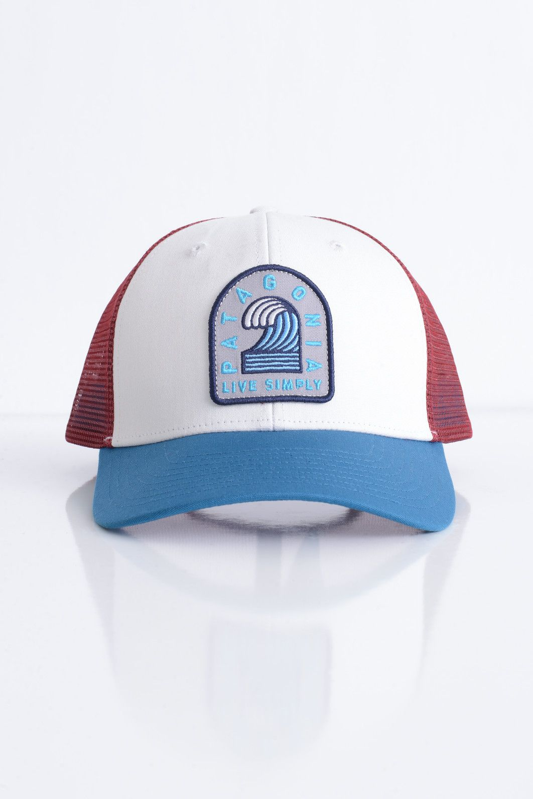 ec659ee7e6b85 Patagonia Men s Breaker Badge White Trucker Hat