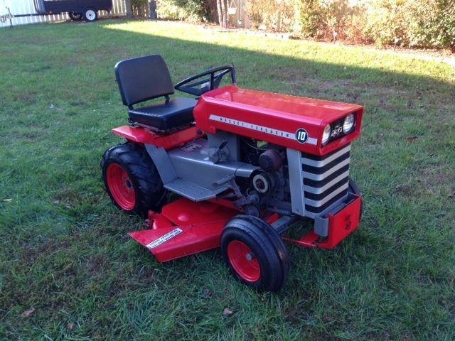 Nice Massey Ferguson Garden Tractor 10.Very Nice Looking Ideas