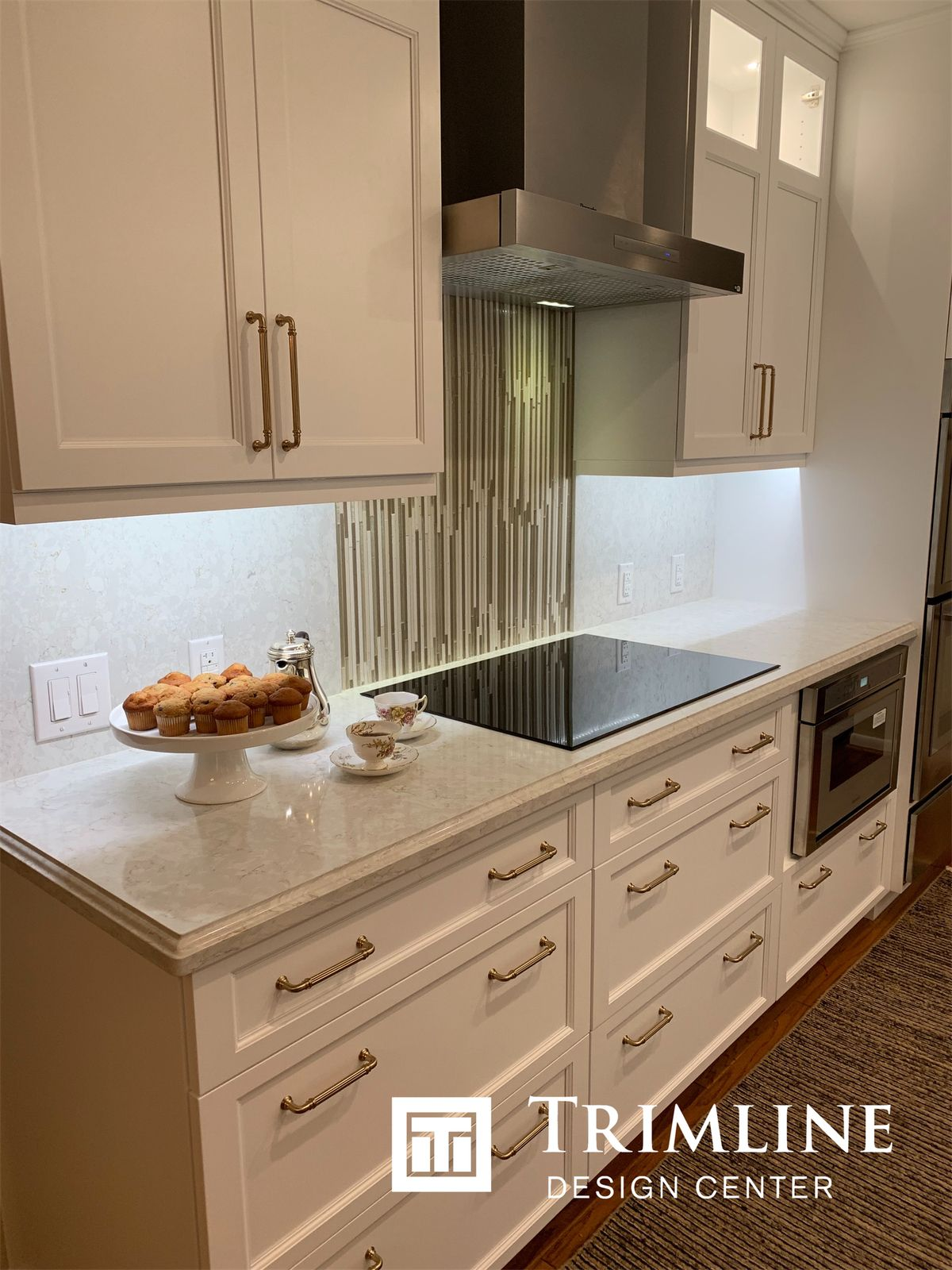 Quartz Countertops By Silestone In Lusso Finish With An Ogee Edge