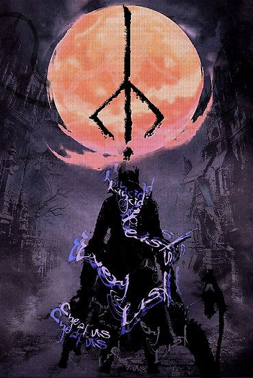 Cool poster found here http://www.redbubble.com/people/xerodesigns/works/15874060-bloodborne-rancid-beasts-every-last-one-of-us?grid_pos=145&p=poster