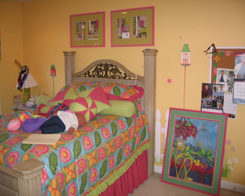 Girls Bedroom Decorating Ideas Little Girl Budget Small Home - Kids-room-decorating-ideas-from-corazzin