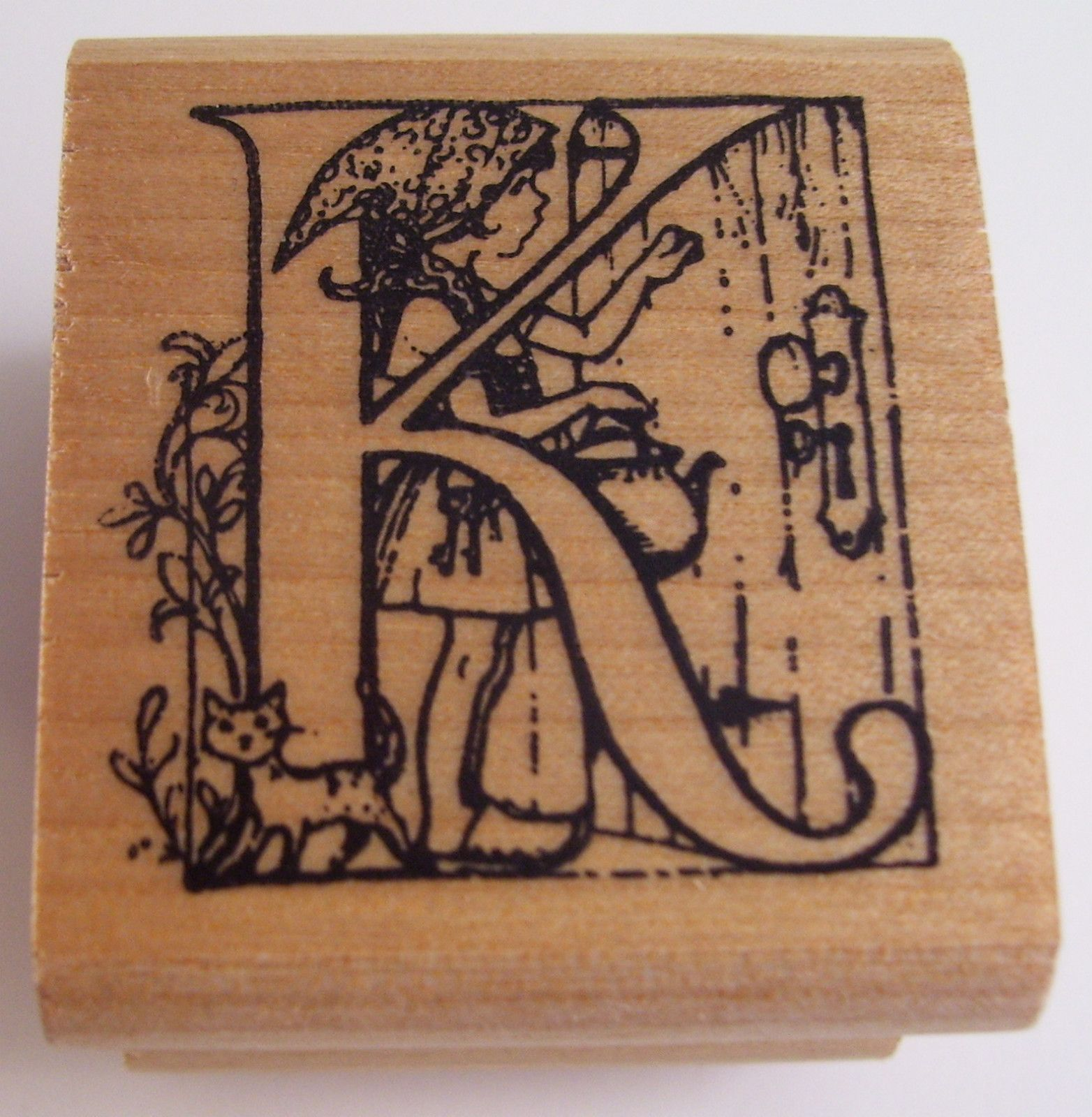 Trina Schart Hyman Alphabet Letter K Kidstamps Rubber Stamp