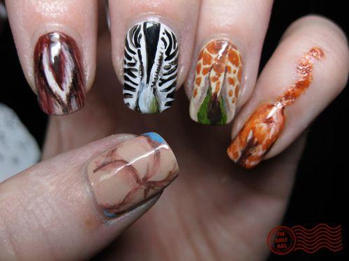 Crazy Nail Art Nail Art Tumblr Nails Pinterest Crazy Nail