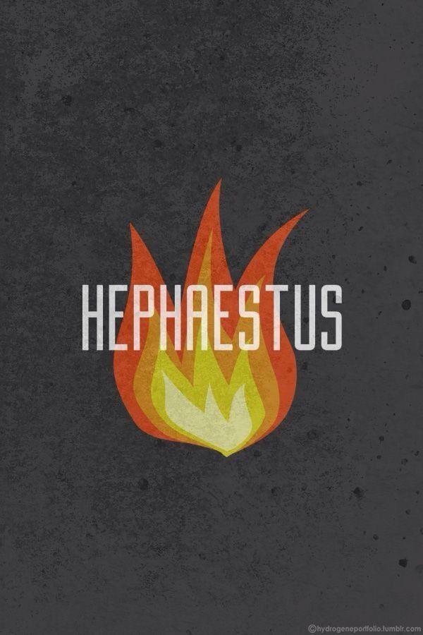 hephaestus symbol percy jackson pinterest hephaestus