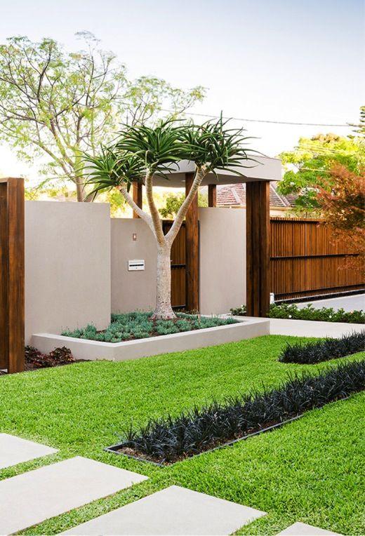 Front Yard Modern Garden Design Minimalist Garden Front Yard Design