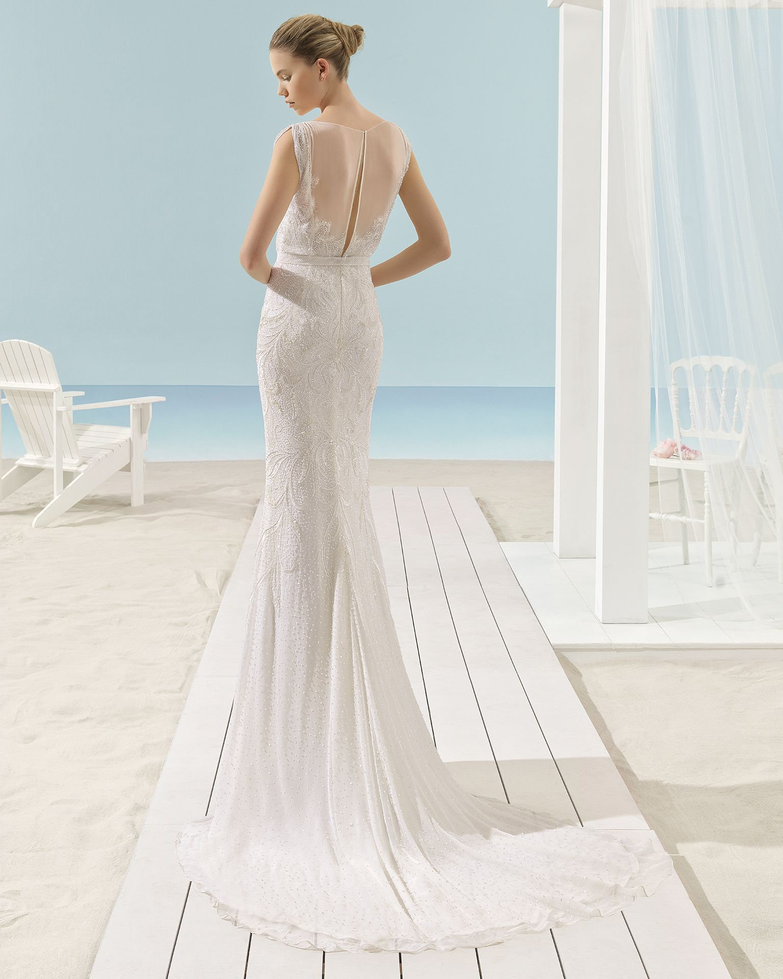 XANAT - 2017 Bridal Collection. Aire Barcelona Beach Wedding ...