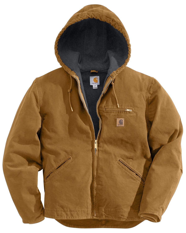 Carhartt Men S Sandstone Sierra Sherpa Lined Jacket Carhartt Jacket Carhartt Mens Mens Jackets [ 1500 x 1200 Pixel ]